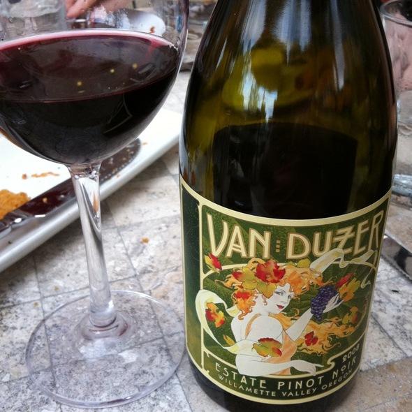 Van Duzer Pinoh @ Ruth's Chris Steak House (St. Louis)