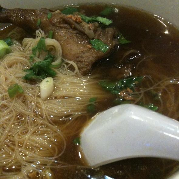 Herb Duck Soup Noodle