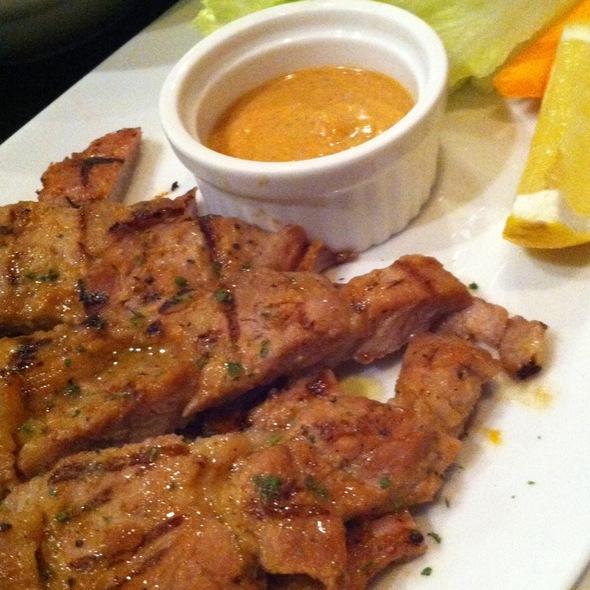 Grilled Pork & Est.33 Sauce