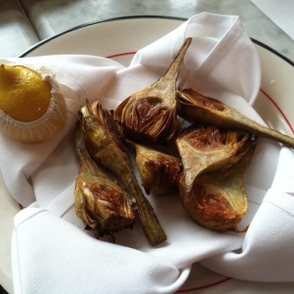 Grilled Artichokes - Bond 45 - National Harbor, Oxon Hill, MD
