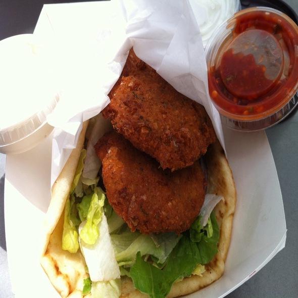 Falafel Sandwich @ Niko Nikos