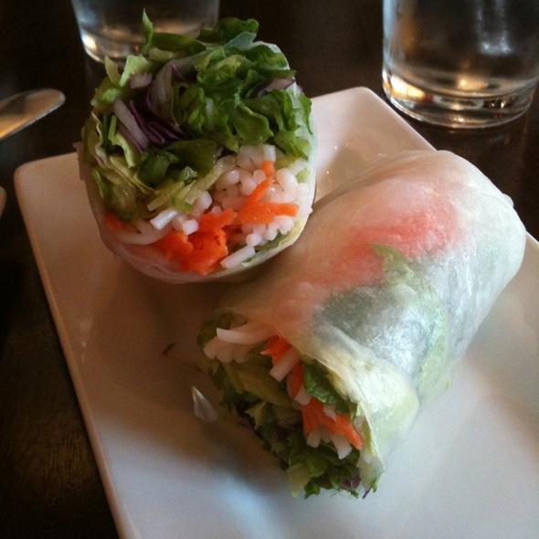 Fresh Spring Roll - Kindee Thai Restaurant, Minneapolis, MN