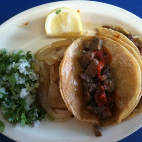 Tacos @ La Paisanita