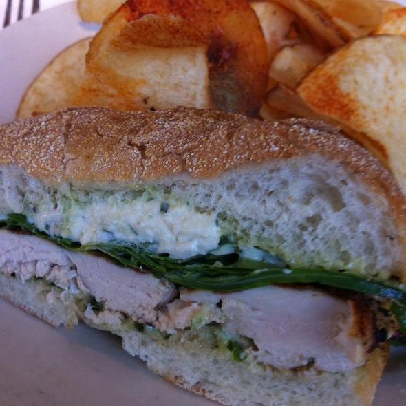 Roasted Chicken Sandwich @ Mustard's Grill