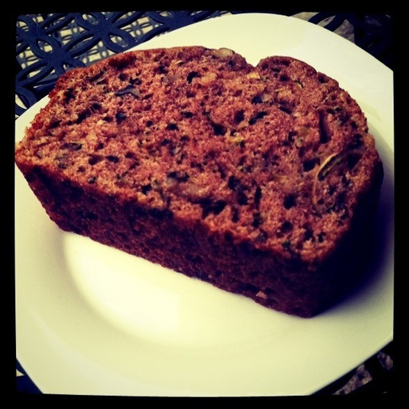 Zucchini Bread @ Cups & Chairs Tea Cafe