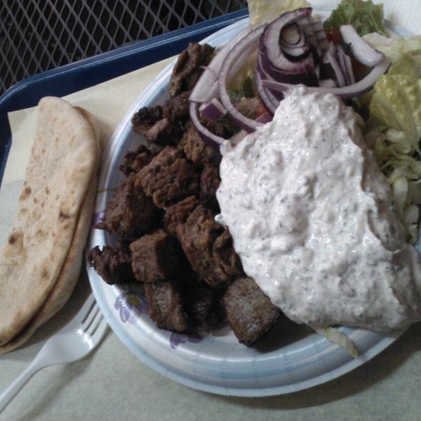 Gyro Plate @ Mediterranean Mix