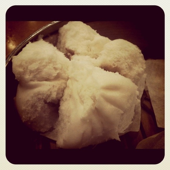 Steamed BBQ Pork Buns 叉烧包 @ China Pearl Restaurant