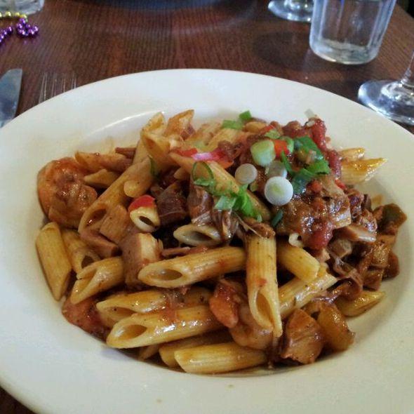 Pasta Jambalaya @ Bud's Louisiana Cafe