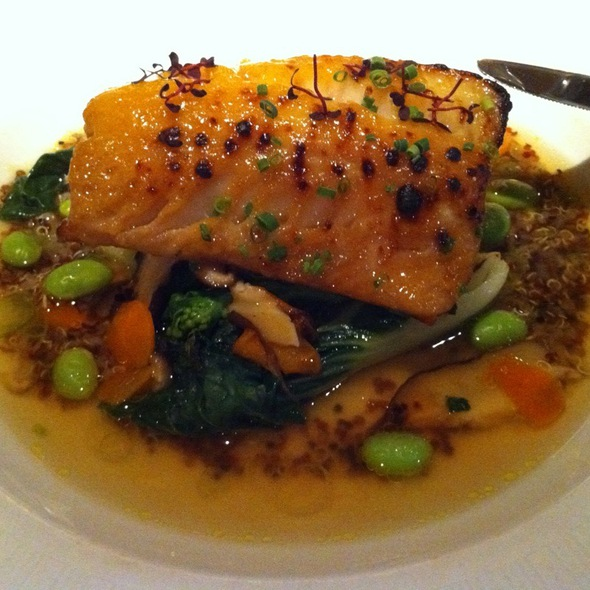 Sablefish @ Blue Water Cafe + Raw Bar