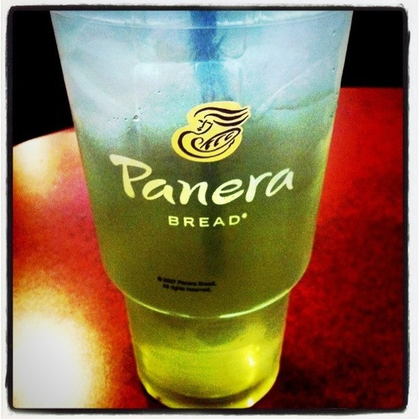 Iced Green Tea @ Panera Bread
