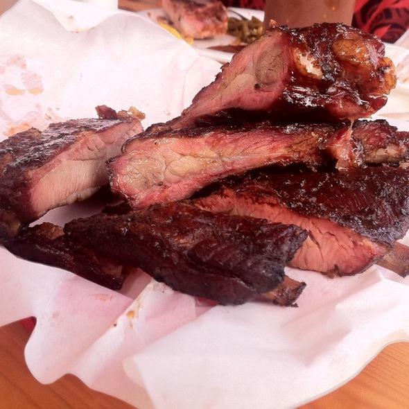House Smoked Spare Ribs @ Podnah's BBQ