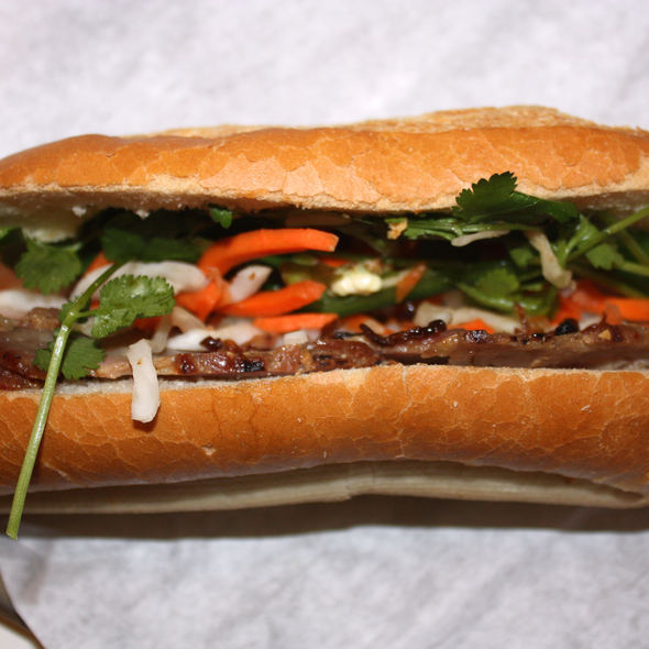 Grilled Pork Bahn Mi