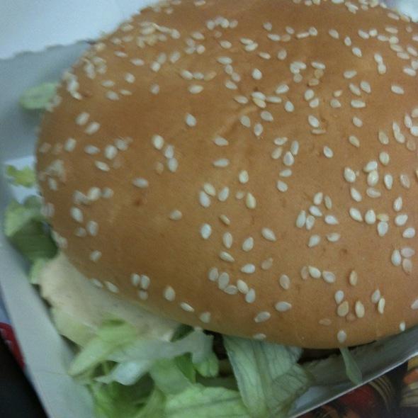 Big Tasty Burger @ Mc Donalds Shopping Continental