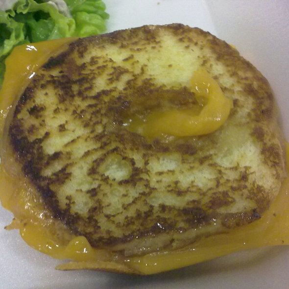 Grilled Cheese Donut @ Tom + Chee