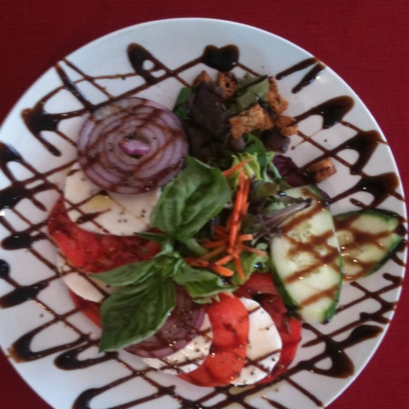 Caprese Salad @ Zeke's Bayside @ Royal Palm Marina