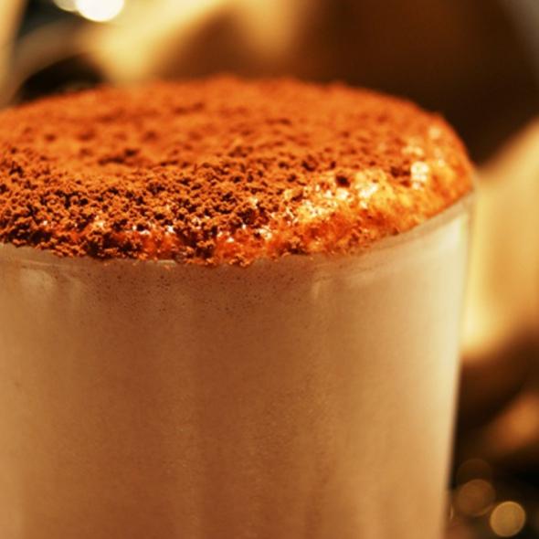 Cold Chocolate @ PAO Padaria Artesanal Orgânica