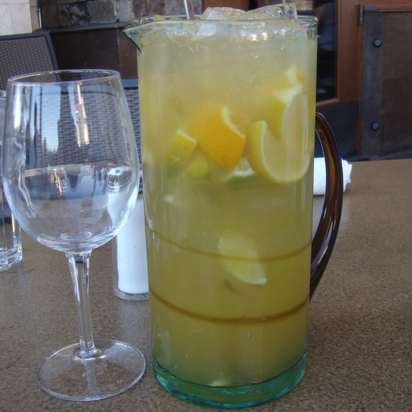 White Peach Sangria @ Lazy Dog Cafe