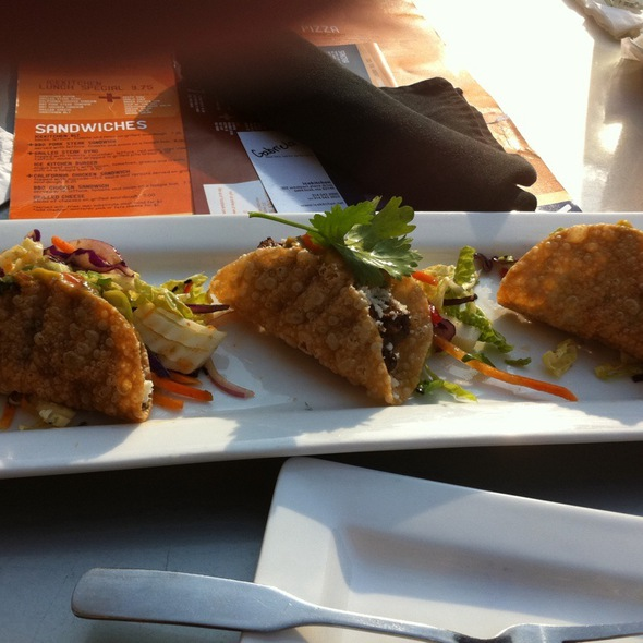 Wonton Tacos @ Ice Kitchen