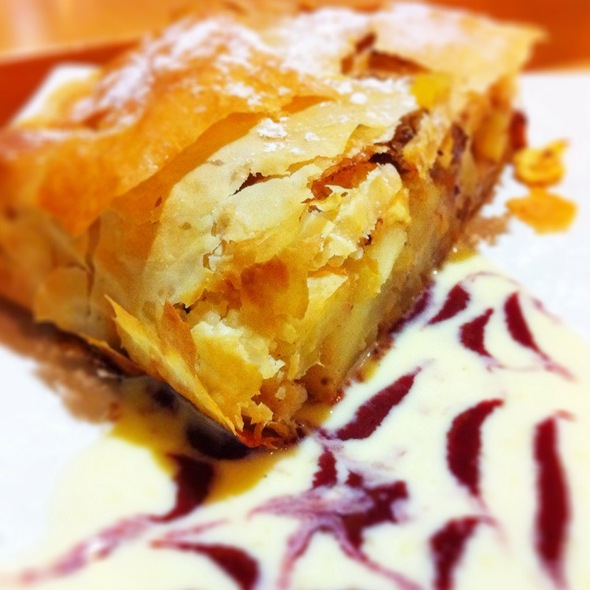 Apple Strudel @ Apricot Tree Ltd The