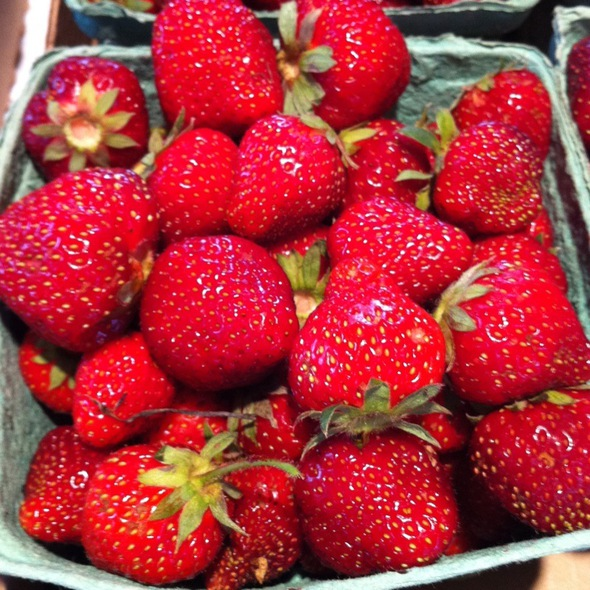 Fresh Strawberries @ CUT