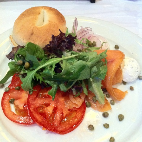 Lox And Bagles @ Library Bistro