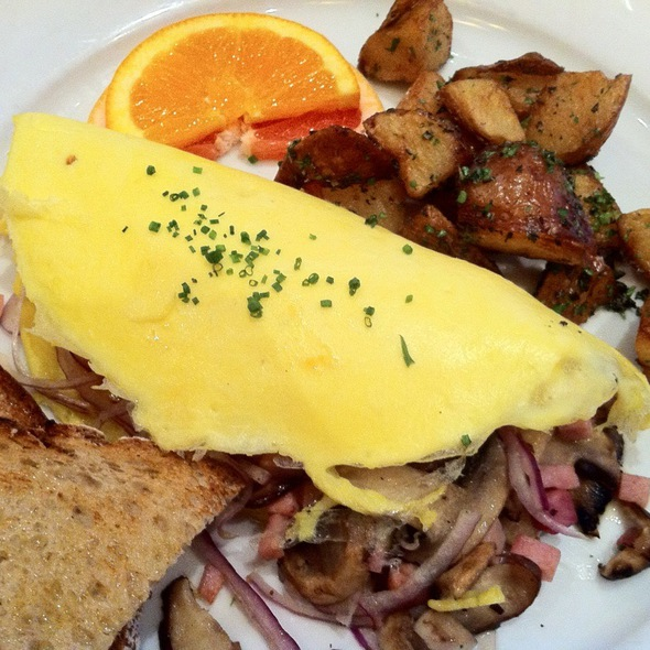 Omlette @ Library Bistro
