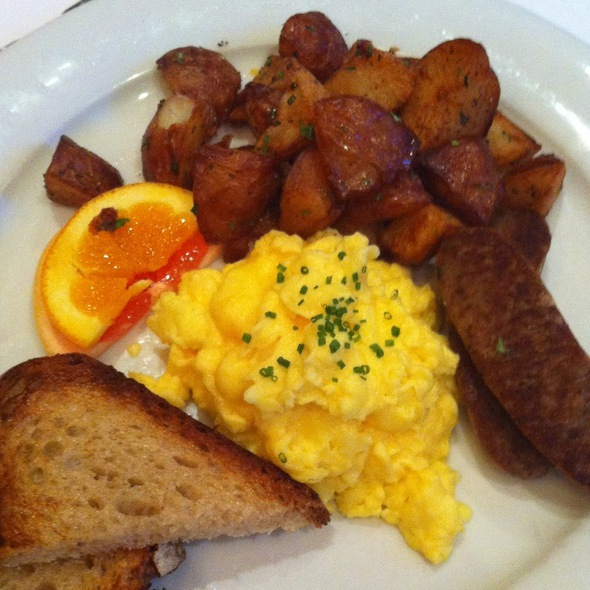 Egg Deluxe @ Library Bistro