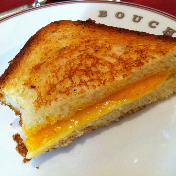 Grilled Cheese Sandwich @ bouchon bistro
