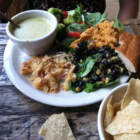 Veggie Plate @ Austin Java Barton Springs
