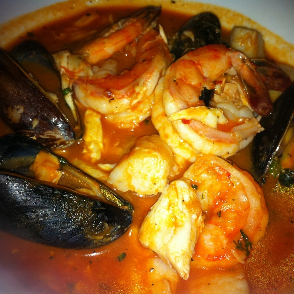 Seafood Cioppino @ The Vine Restaurant and Wine Bar