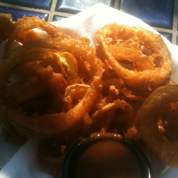 Ancho Chili Dusted Onion Rings - Lopez Southwest Kitchen, Cleveland Heights, OH