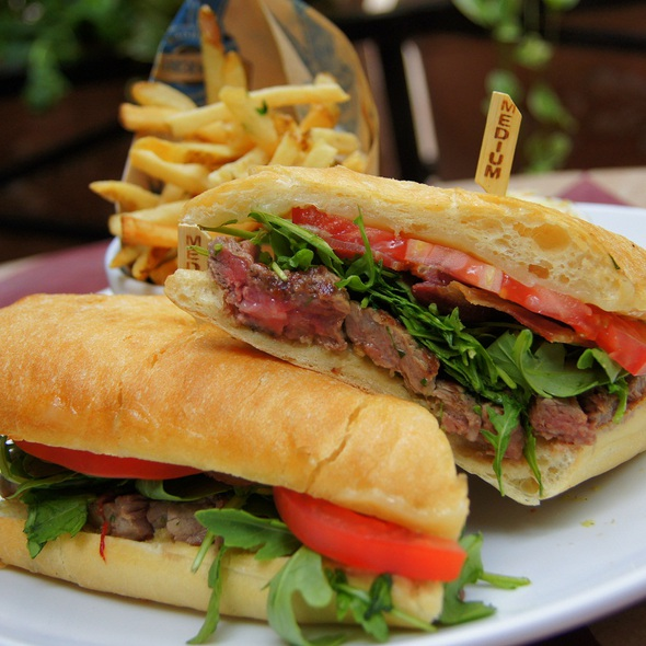 tenderloin club sandwich - Rosebud Prime, Chicago, IL
