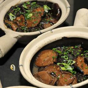 Sake Braised Shiitake Mushrooms