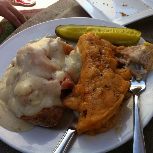 Hot Turkey Sandwich - Bird Restaurant, Denver, CO