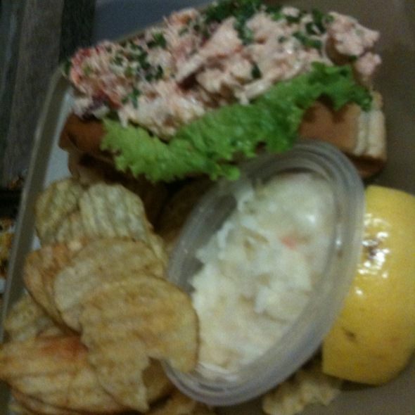Crab Club Sandwich @ The Lobster Place
