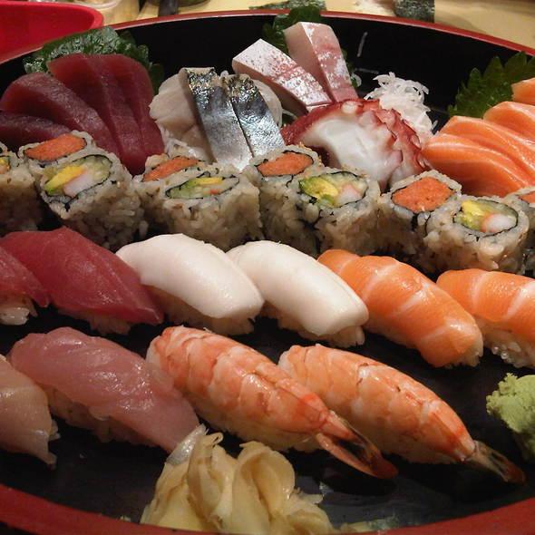 Sushi Platter @ Sushi A Go Go