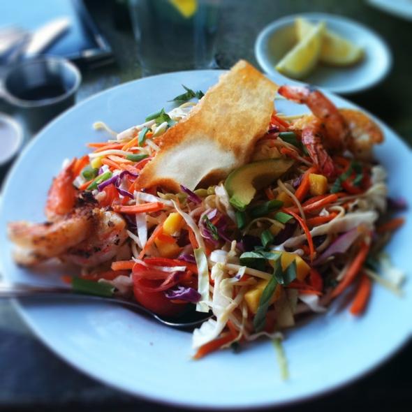 Shrimp Asian Noodle Salad - Satellite...Eat. Drink. Orbit., Austin, TX