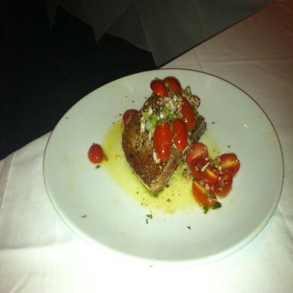 Ahi Tuna Steak - Fleming's Steakhouse - Brookfield