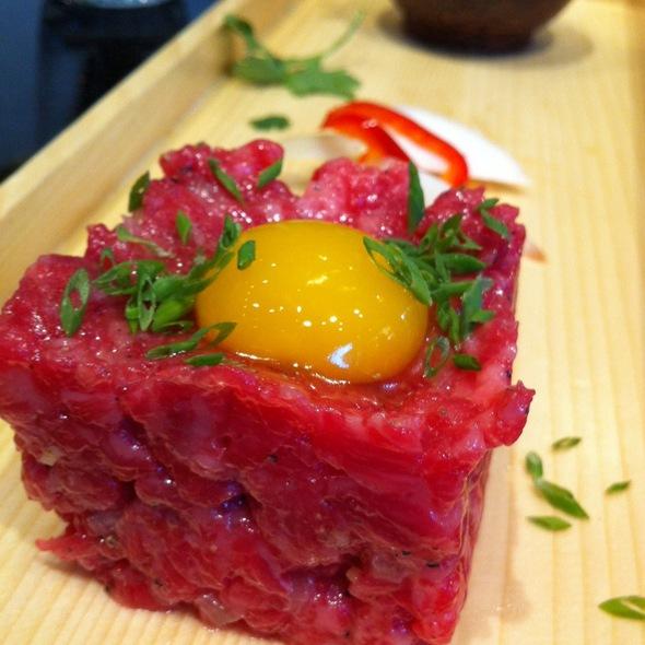 Wagyu Beef Tartare @ Union Sushi + Barbeque Bar