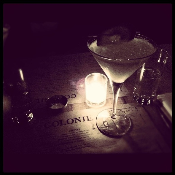 Cool Hand Cuke Martini @ Colonie