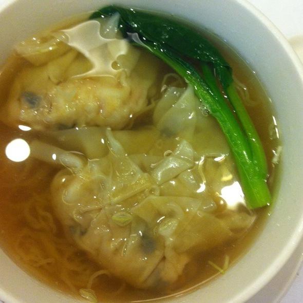Shrimp Dumpling Noodle Soup @ Crystal Jade Dining Place