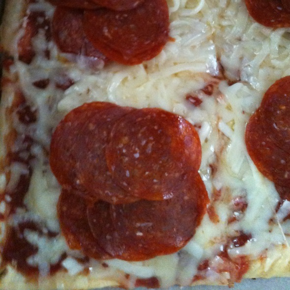 Pepperoni Pizza With Extra Cheese