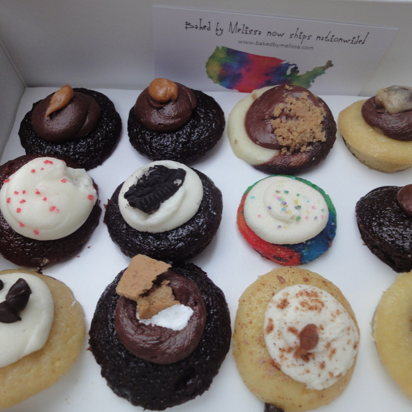 Assorted mini Cupcakes @ Baked by Melissa LLC