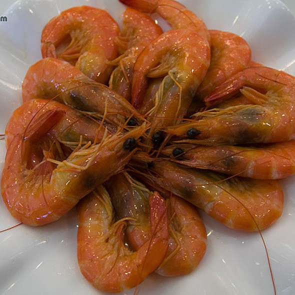 Spicy Cold Shrimp @ Empire Chinese Cuisine