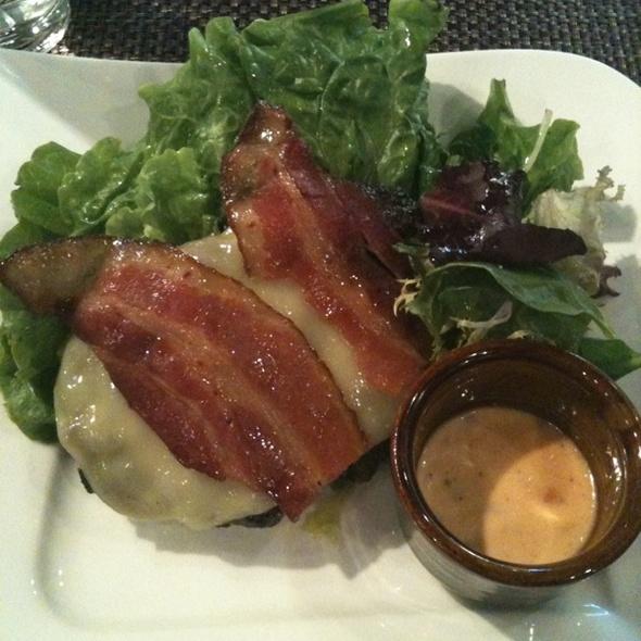 Kiki's Burger (protein style) @ Bachi Burger