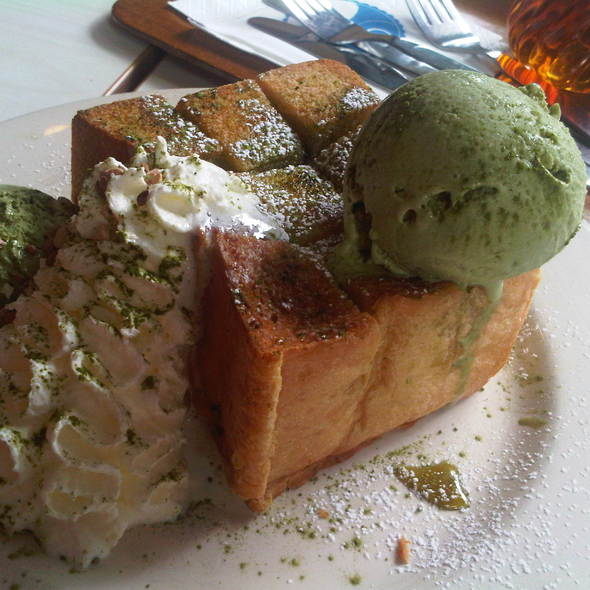 Matcha Honey  Toast @ After You
