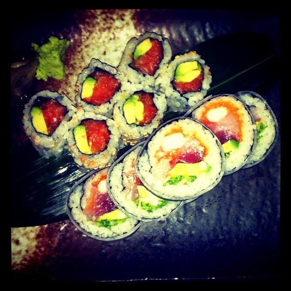 special houae roll  my amazing mauri's #bday @ Nobu - San Diego