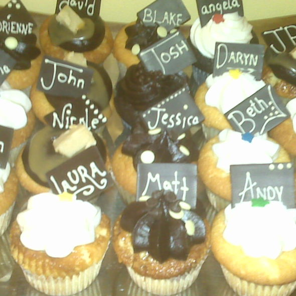 Assorted cupcakes @ Grand Cafe - Closed