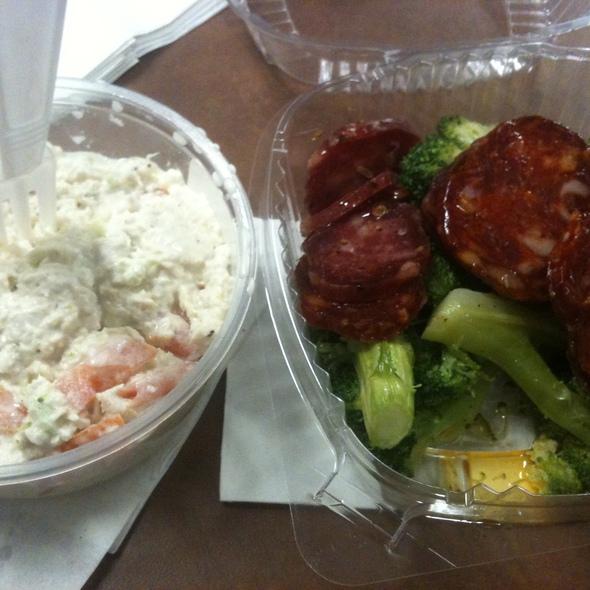 Chicken Salad, Broccoli & Sopressata @ Battaglia Bros. Deli & Catering