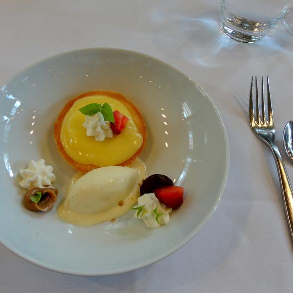 Tarte Au Citron @ Restaurant Laurie Raphael Inc